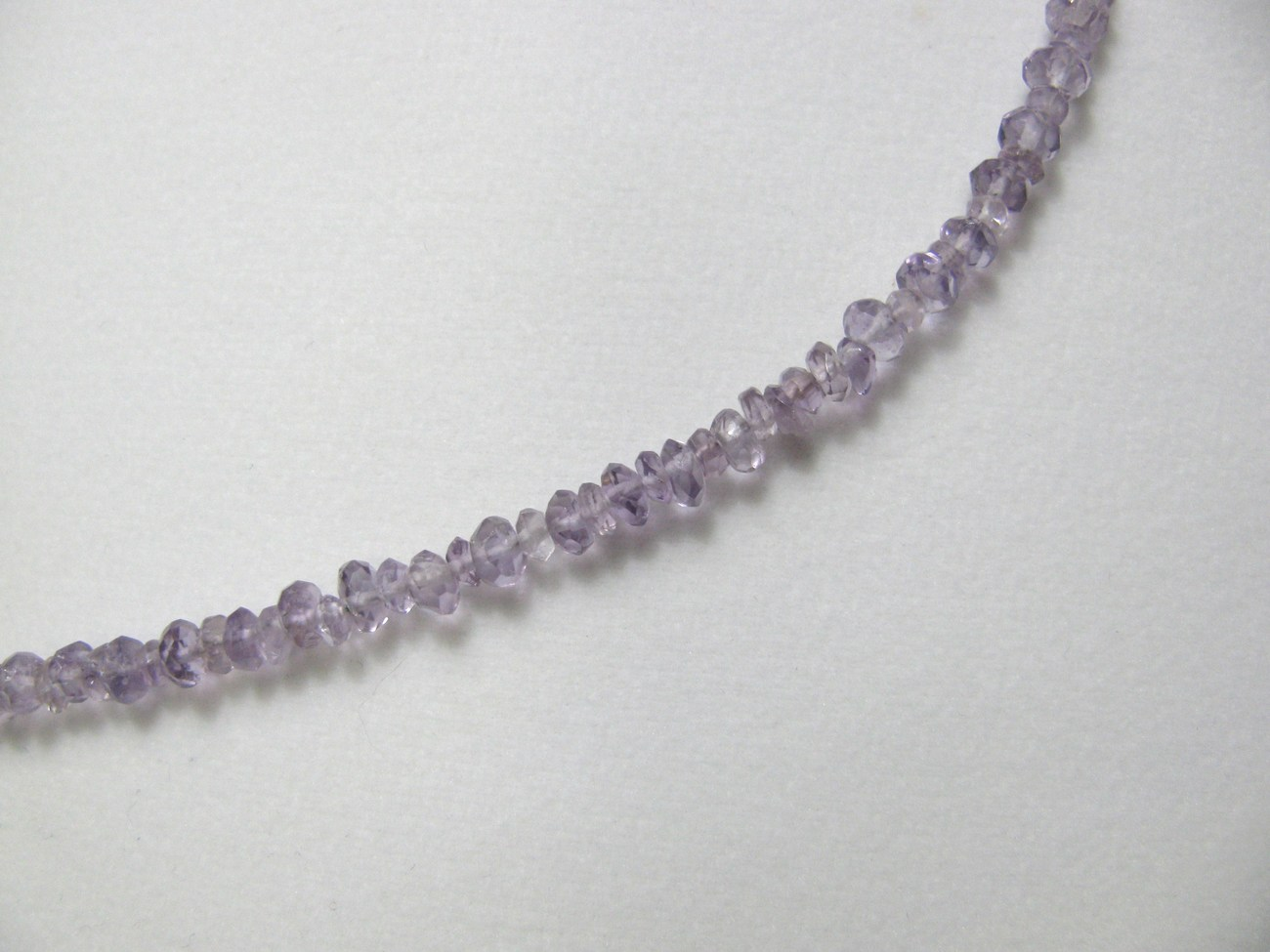 Amethyst Necklace 29 inches Sterling RKS258 RKMixables Silver Collection image 5