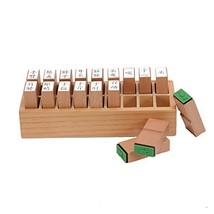 LEADER JOY Montessori Chinese Human Structure Seal Language Learning aids - $25.76
