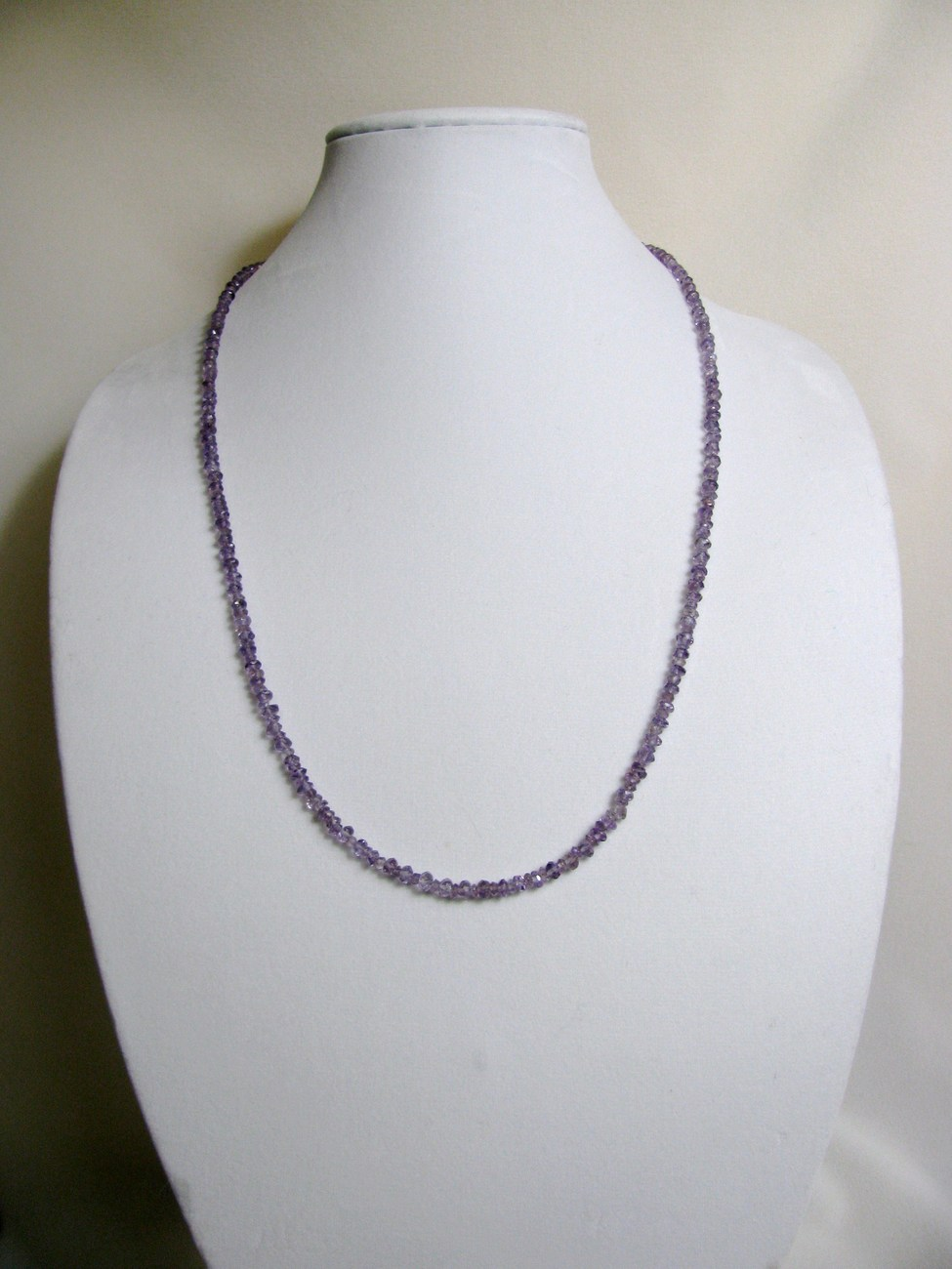 Amethyst Necklace 29 inches Sterling RKS258 RKMixables Silver Collection image 6