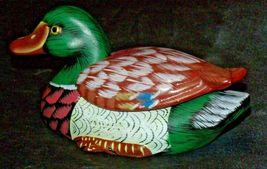 Duck Figurine (Jewelry Box ) AA20-2060 Vintage image 8