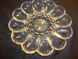 Achor Hocking Fairfield Pattern Deviled Egg Platter - $15.00