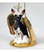 CHINESE CRESTED  ANGEL DOG CHRISTMAS ORNAMENT HOLIDAY Figurine - $12.98