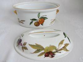 Royal Worcester Evesham Vale Covered Casserole + Rectangular Serving Dish Bowl image 6