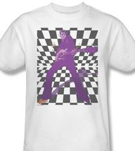 Elvis Presley T-shirt retro vintage classic rock 100% cotton white tee ELV595 image 2