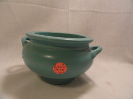Roseville Matte Green 3.5 inch Pot - unsigned - $37.49