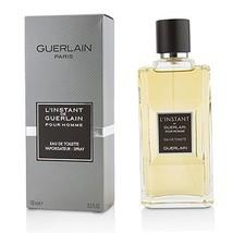 L'Instant De Guerlain Pour Homme Eau De Toilette Spray (New Version)  10... - $120.70