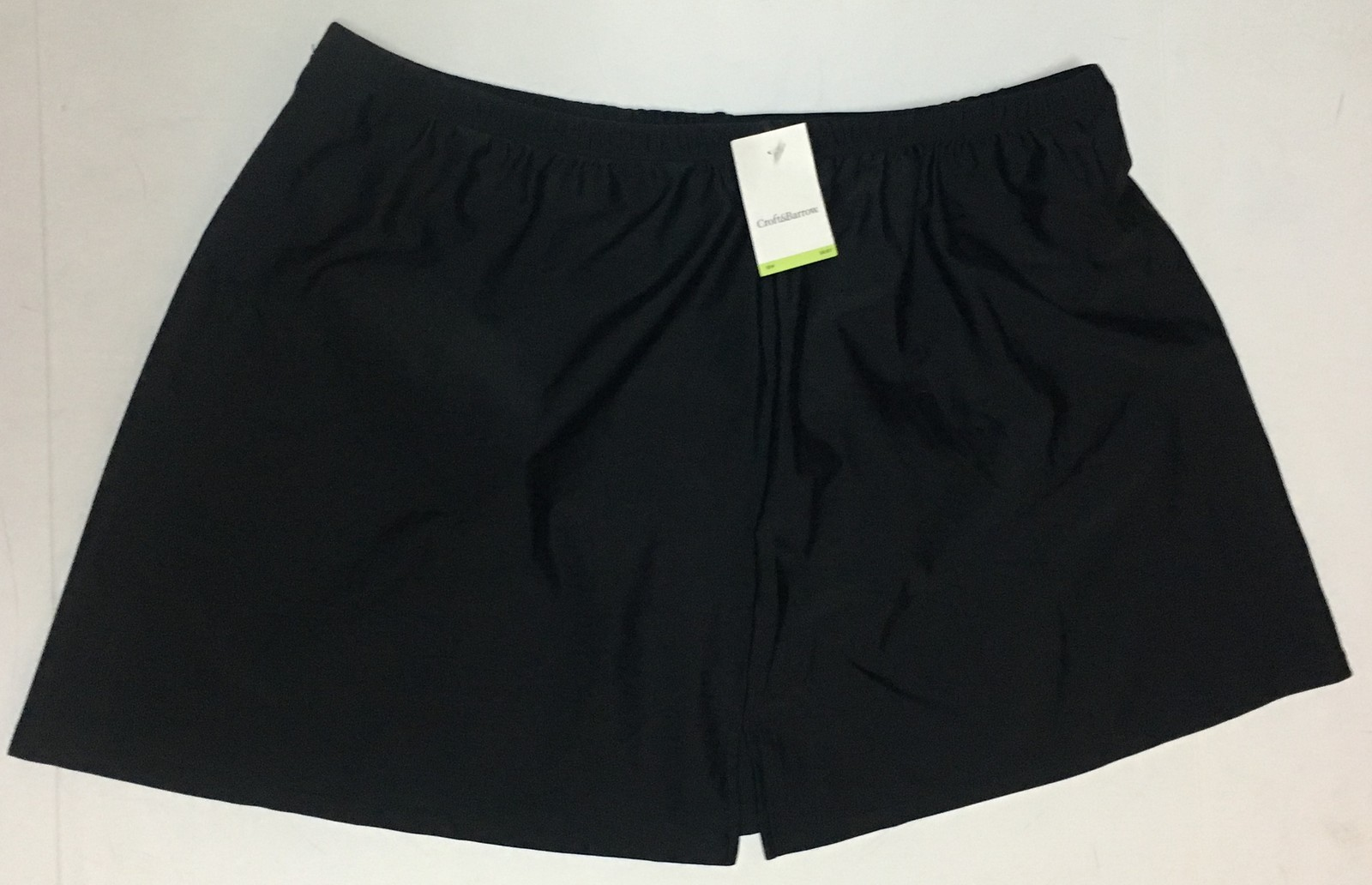 Croft & Barrow Activity Swimwear Skirt 18W Black image 2