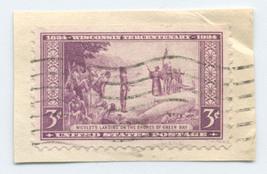 S7 - 3 Cent Wisconsin Tercentenary Commorative Stamp - $0.99