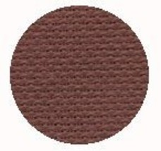 Chocolate Raspberry 16ct Aida 36x25 cross stitch fabric Wichelt - $22.00