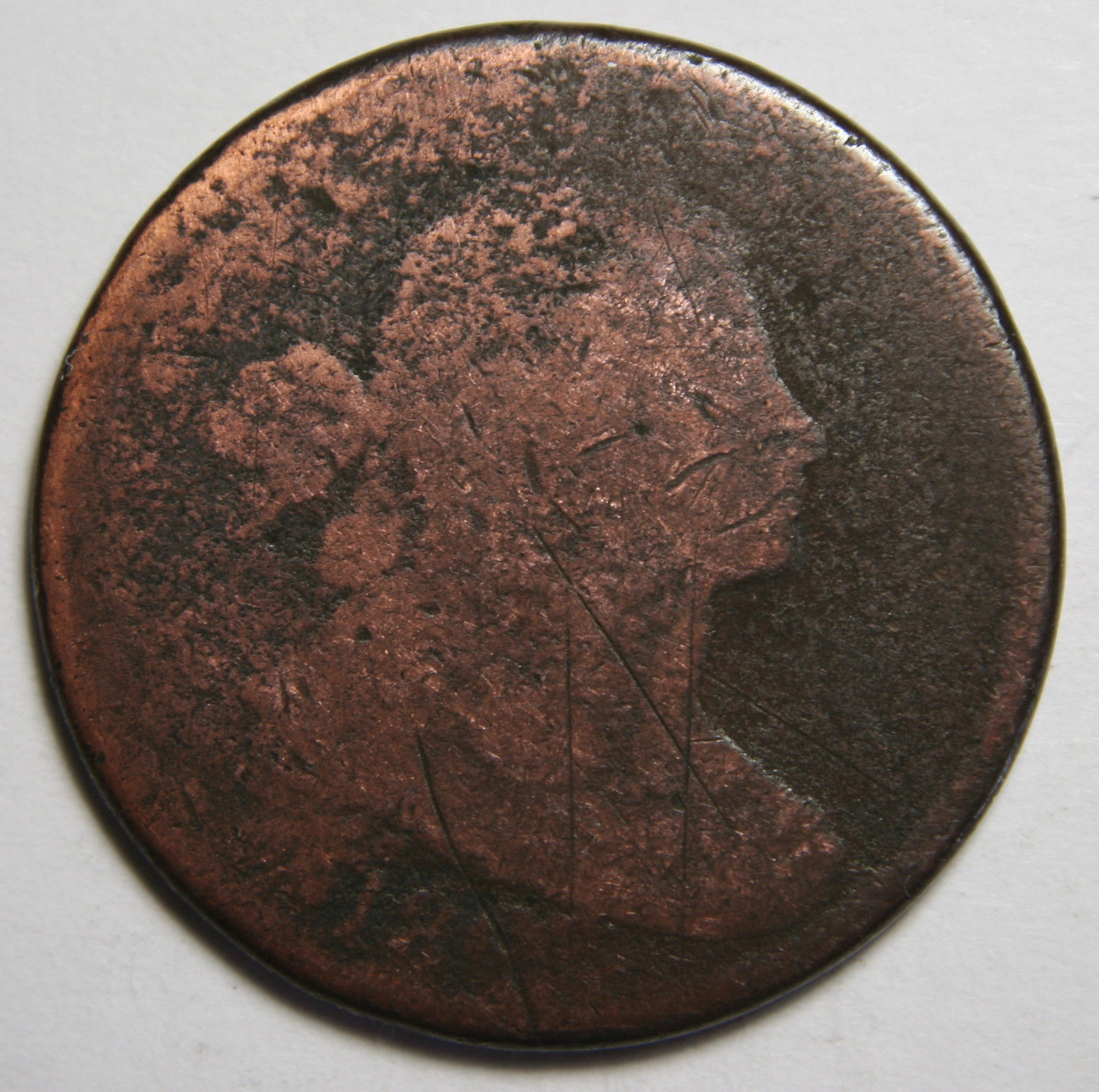 1802 Large Cent Liberty Head Coin Lot # MZ 4080