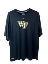 Wake Forest Nike Dri-Fit Shirt XXL Black  - $17.81