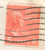S11 - 6 Cent John Quincy Adams Stamp Scott #811 - $0.99