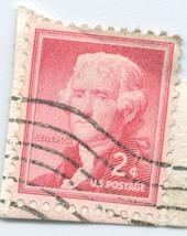 S13 - 2 Cent Thomas Jefferson Stamp - Scott #1055 - $0.99
