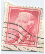 S13 - 2 Cent Thomas Jefferson Stamp - Scott #1055 - $0.99
