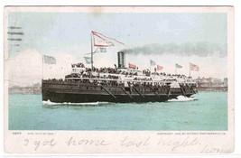 Steamer City of Erie 1906 postcard - $4.46