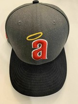 California Angels Grey Throwback New Era Cooperstown Collection Snapback... - $22.76