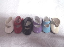 43mm MARY JANE DOLL SHOES WITHOUT BOW - $11.93