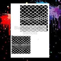 Snake Skin Set 01  Airbrush Stencil,Template - $10.99