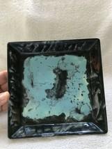 "Marbee California Pottery, 1950's, 7"" Square Dish - $18.00"