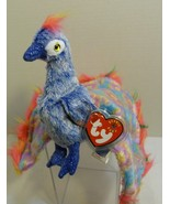 "TY Beanie Babies ""Flashy"" - The Peacock (2000) in Display Case - $19.98"