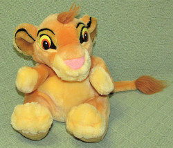"Applause SIMBA CUB Hand Puppet LION KING Plush Stuffed 8"" DISNEY Full Bo... - $14.01"