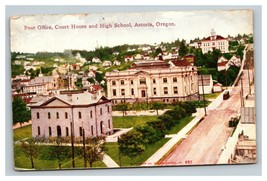 Vintage Early 1900's Postcard Astoria Oregon Buildings POSTED - $15.81