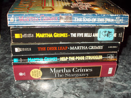 Martha Grimes lot of 5 mystery paperback - $5.99