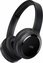 JVC Around Ear Noise Canceling Wireless Folding Headphone Black (HAS80BN) - $105.93
