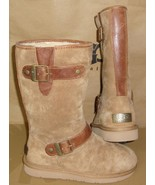UGG Australia SUTTER Chestnut Buckled Strap Boots Size US 5, EU 36 NEW #... - $118.75