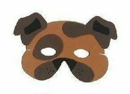 Braun Bulldogge Maske, Kinder Eva Schaumstoff Tier Masken, Kostüm - $1.60 CAD