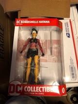 2017 DC Designer Series Icons BOMBSHELLS Ant Lucia Figure MOC - KATANA - $29.69