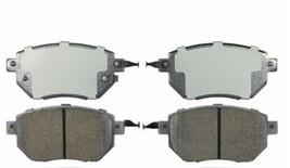 Ceramic Disc Brake Pad Set Front DURALAST GOLD-BOSCH for MURANO MAXIMA F... - $38.61