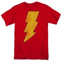 Shazam Lightning Bolt T-shirt retro DC comic cartoon superfriends cotton DCO268 image 2