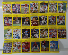1991 Fleer Philadelphia Phillies Team Set of 27 Baseball Cards - $3.00