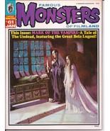 Warren Famous Monsters Of Filmland #61 Mark Of The Vampire Undead Bela L... - $24.95