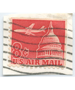 S17 - 8 Cent Airmail Jet over US Capital - Scot... - €0,88 EUR
