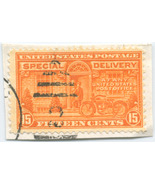 S18 - 15 Cent Special Delivery Stamp Scott E16 - $1.29 CAD