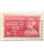 S19 - 3 Cent Moina Michael - Memorial Poppy Stamp Scott #977 - £0.77 GBP