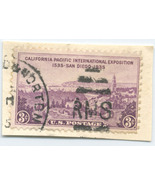 S21- 3 Cent CA Pacific International Exposition Stamp  - $0.99