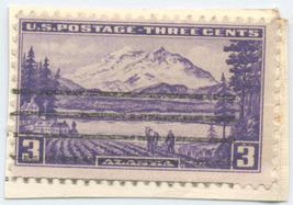 S22- 3 Cent Alaska Mt. McKinley Stamp Scott #800 - $0.99