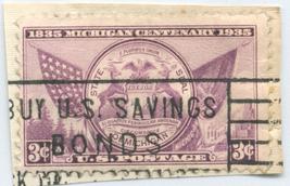 S23- 3 Cent Michigan Centennial Stamp Scott #775 - $0.99