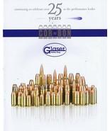 ORIGINAL Vintage 2008 Glaser Safety Slug Catalog - $19.79