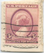 S27- 3 Cent Susan B. Anthony Suffrage Women Sta... - $0.99