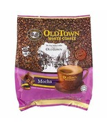 Old Town Mocha 3 In 1 Instant Premix White Coffee 1/4/6/8 Bags  - $18.99