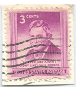 S29- 3 Cent Will Rogers Stamp Scott #975 - ₨64.38 INR