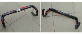 H5 Full Carbon Cycling Bike Handlebar 31.8mm 400mm For Road Bicycle - RED - €23,70 EUR