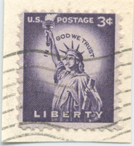 S30- 3 Cent Liberty Stamp Scott #1035 - $0.99