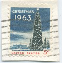 S32- 5 Cent Christmas 1963 Stamp Scott #1240 - $0.99