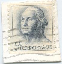 S34- 5 Cent George Washington Stamp Scott #1213 - $0.99