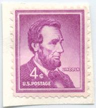 S36- 4 Cent Abraham Lincoln Stamp Scott #1036A - $0.99